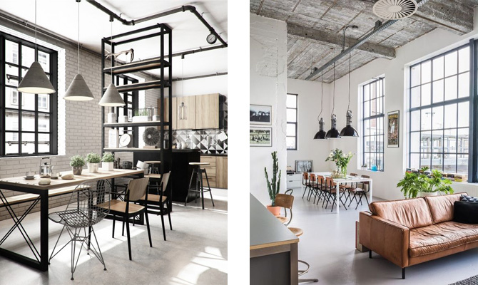 estilo industrial interiorismo