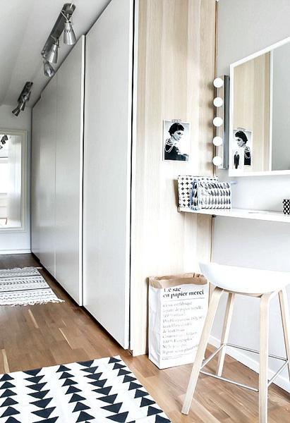 vestidor simple